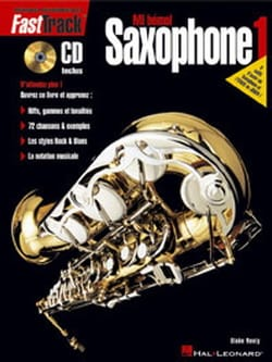 Fast Track Saxophone 1 - Edition française Blake Neely laflutedepan