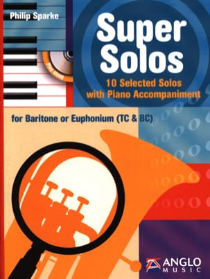 Philip Sparke - Super Solos - 10 Selected Solos - Sheet Music - di-arezzo.co.uk