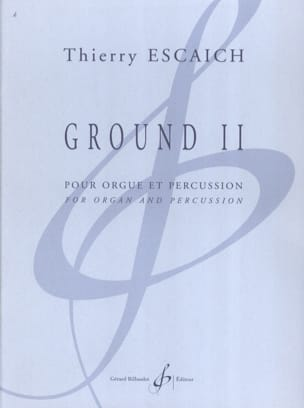 Thierry Escaich - Ground 2 - Partition - di-arezzo.fr
