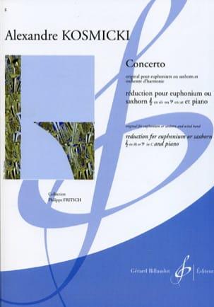 Concerto Alexandre Kosmicki Partition Tuba - laflutedepan