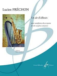 Lucien Fréchon - Un Air D' Ailleurs - Partition - di-arezzo.fr