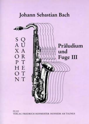 BACH - Präludium Und Fuge 3 - Sheet Music - di-arezzo.co.uk