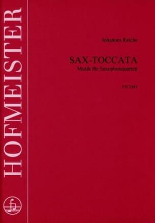 Johannes Reiche - Sax-Toccata - Partition - di-arezzo.fr
