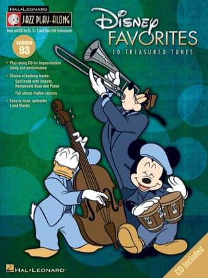 DISNEY - Jazz play-along volume 93 - Disney Favorites - Sheet Music - di-arezzo.co.uk