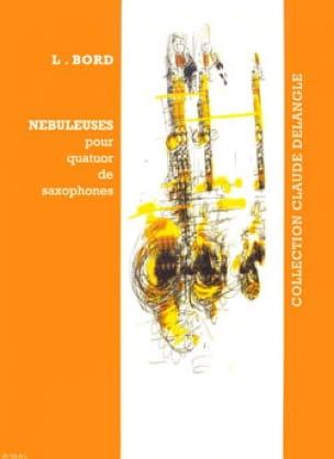 Lionel Bord - Nébuleuses - Partition - di-arezzo.fr
