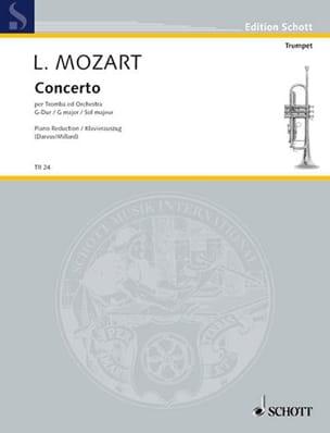 Concerto G-Dur Leopold Mozart Partition Trompette - laflutedepan