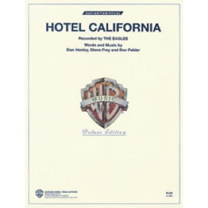Hotel California Eagles Partition Guitare - laflutedepan
