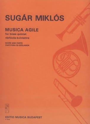 Sugar Mikos - Musica Agile - Partition - di-arezzo.fr
