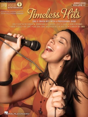 - Pro Vocal Women's Edition Volume 47 - Timeless Hits - Partition - di-arezzo.fr