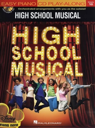 High School Musical 1 - Easy Piano CD Play-Along Volume 18 - Partition - di-arezzo.fr