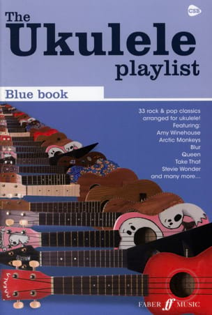 The Ukulele Playlist - Blue Book Partition Pop / Rock - laflutedepan
