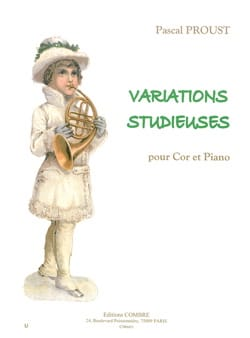 Pascal Proust - Studious variations - Sheet Music - di-arezzo.co.uk