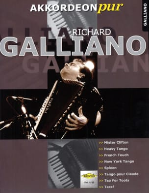 Richard Galliano - Akkordeon Pure - Richard Galliano - Sheet Music - di-arezzo.co.uk
