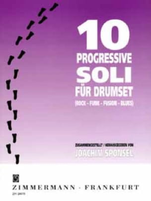 Joachim Sponsel - 10 Progressives Soli - Partition - di-arezzo.fr