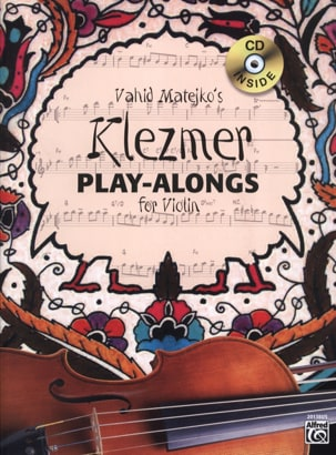 Klezmer Play-Along Für Violin - Vahid Matejkos - laflutedepan.com