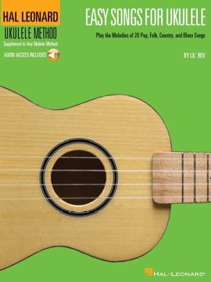 Easy Songs For Ukulele Partition Musique du monde - laflutedepan