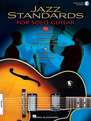 Jazz Standards For Solo Guitar Partition Guitare - laflutedepan