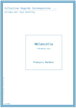 François Narboni - Melancolia - Sheet Music - di-arezzo.co.uk
