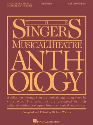 The Singer's Musical Theatre Anthology Volume 5 - Baritone / Bass - laflutedepan.com