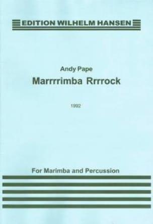 Pape - Marrrrimba Rrrrock - Partition - di-arezzo.fr