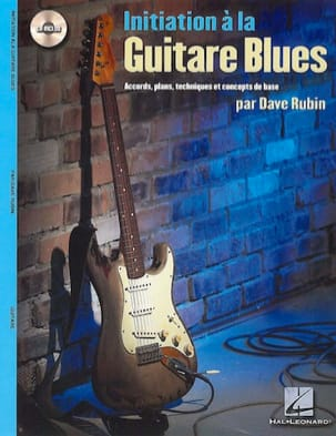 Initiation A la Guitare Blues Dave Rubin Partition laflutedepan