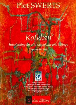 Kotekan Piet Swerts Partition Saxophone - laflutedepan