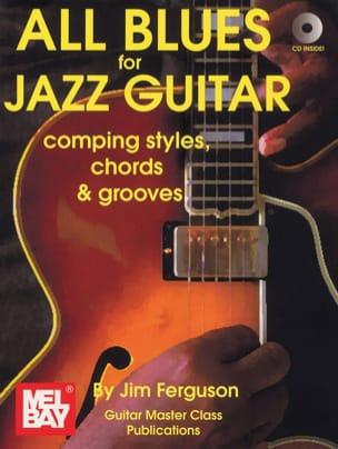 All blues for jazz guitar Jim Ferguson Partition laflutedepan