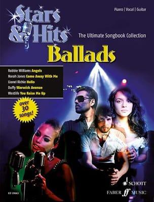 - Stars & Hits Ballads - Partition - di-arezzo.fr