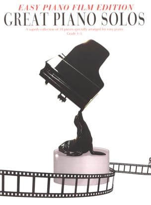 - Easy Piano Edition - Great Piano Solos - The Film Book - Partition - di-arezzo.fr