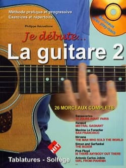 Je débute la Guitare - Volume 2 Partition Guitare - laflutedepan