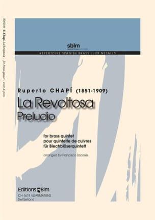 La Revoltosa - Ruperto Chapi - Partition - laflutedepan.com