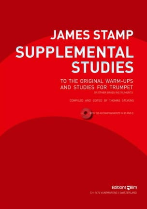 Supplemental Studies James Stamp Partition Trompette - laflutedepan