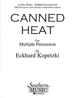 Canned heat Eckhard Kopetzki Partition laflutedepan