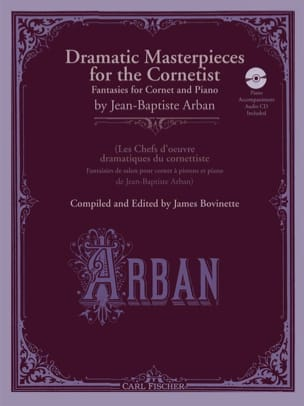 Jean-Baptiste Arban - Dramatic Masterpieces For The Cornetist - Sheet Music - di-arezzo.co.uk