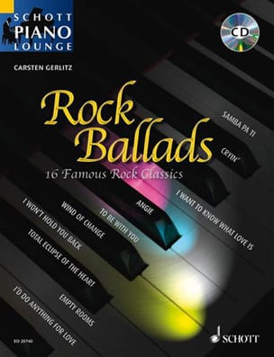 - Rock Ballads - Partition - di-arezzo.fr