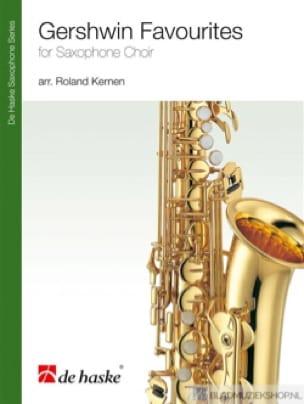 Gershwin Favorites GERSHWIN Partition Saxophone - laflutedepan