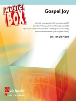 Gospel joy - music box Jan De Haan Partition ENSEMBLES - laflutedepan