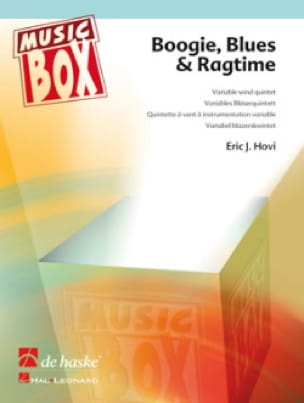 Eric J. Hovi - Boogie, blues & ragtime - music box - Partition - di-arezzo.fr