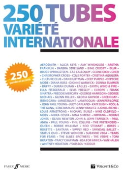 250 Tubes Variété Internationale Partition Pop / Rock - laflutedepan
