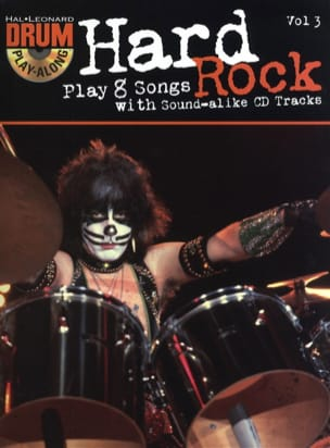 - Drum play-along volume 3 - Hard Rock - Sheet Music - di-arezzo.com