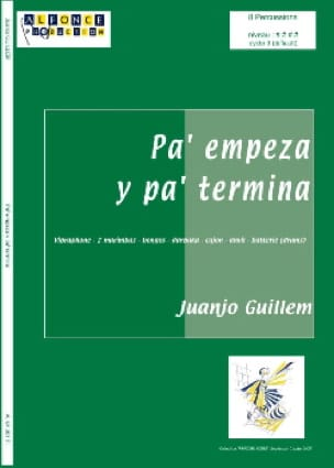 Pa' Empeza Y Pa' Termina - Juanjo Guillem - laflutedepan.com