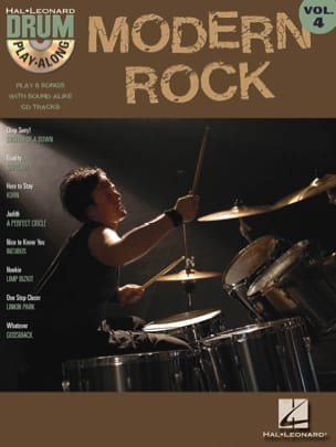 Drum play-along volume 4 - Modern Rock - Sheet Music - di-arezzo.co.uk