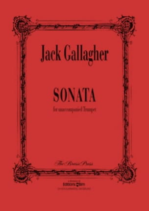 Sonata Jack Gallagher Partition Trompette - laflutedepan