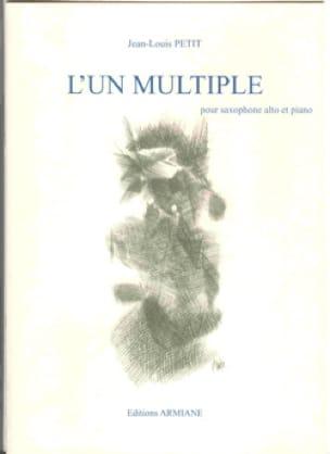 L' Un Multiple - Jean-Louis Petit - Partition - laflutedepan.com