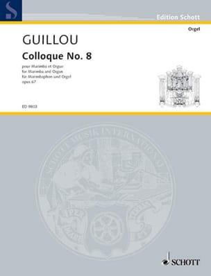 Jean Guillou - Colloque N° 8 Opus 67 - Partition - di-arezzo.fr