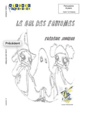 Le Bal Des Fantomes - Frédéric Jourdan - Partition - laflutedepan.com