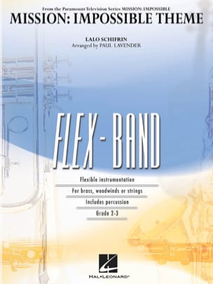 Mission: Impossible Theme - FlexBand Lalo Schifrin laflutedepan