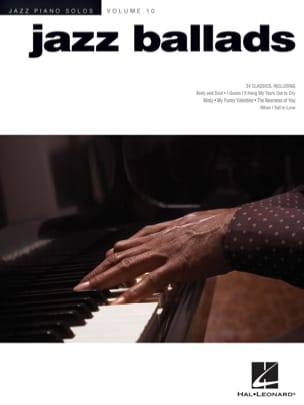- Jazz Piano Solos Series Volume 10 - Jazz Ballads - Partition - di-arezzo.fr