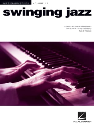 Jazz Piano Solos Volume 12 - Swinging Jazz Partition laflutedepan