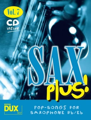 - Sax plus! volume 7 - Partition - di-arezzo.fr